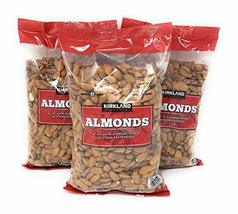 Kirkland Signature Supreme Whole Almonds, 3 Pack (3 Pounds) - $64.99
