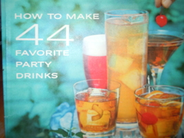 Vintage How To Make 44 Favorite Party Drinks Southern Comfort Recipe Booklet - $4.99