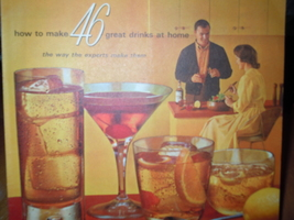 Vintage How To Make 46 Drinks at Home Southern Comfort Recipe Booklet - $4.99