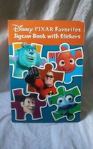 Disney's Pixar Favorites Jigsaw Board Book With Stickers CARS TOY STORY ... - $14.99