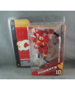 MCFARLANE NHL SERIES 8 GARY ROBERTS CHASE VARIANT CALGARY FLAMES RED JERSEY - $99.00
