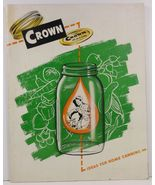 Crown Ideas for Home Canning by Crown Cork Corp. 1948 - $5.99