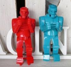 Rock'em Sock'em Robots from Mattel 2001 Blue Bomber The Red Rocker - $11.50