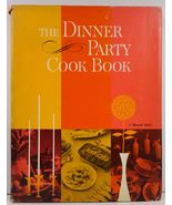 The Dinner Party Cook Book Sunset Editorial Staff 1962 HC/DJ - $6.99