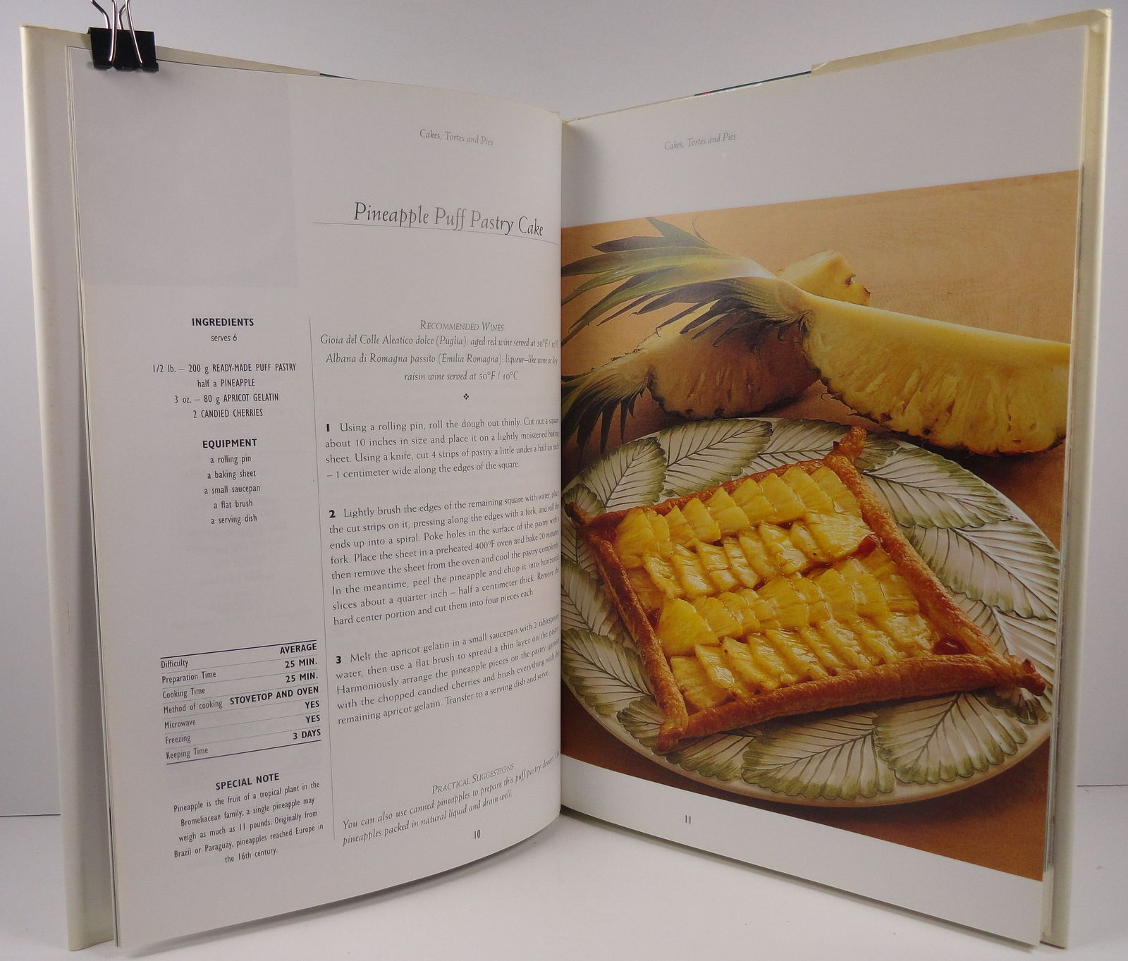 Cooking Italian Desserts 1977 Thunder Bay Press HC/DJ