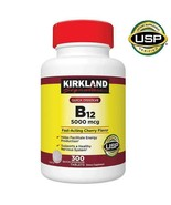 NEW Kirkland Signature Quick Dissolve B-12 5000 mcg., 300 Tablets FREE S... - $27.99