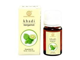 Khadi Bergamot Oil 100% Undiluted Pure Natural Essential Oil 15ml - $20.63+