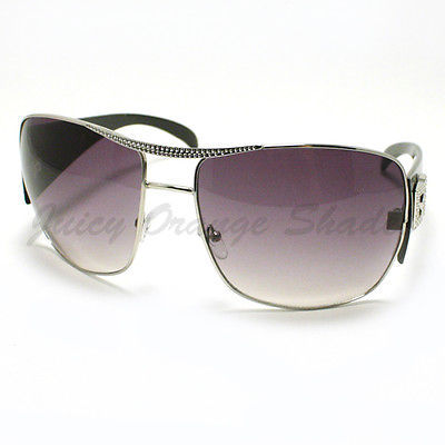 Womens Square Super Oversized Sunglasses Celebrity Privacy Fashion