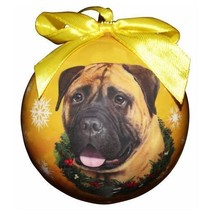 BULLMASTIFF CHRISTMAS BALL ORNAMENT DOG HOLIDAY XMAS PET LOVERS GIFT - $9.94