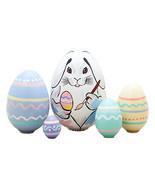 """Easter Bunny Nesting Egg 5pc./4"""" - $36.00"""