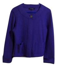 EVAN PICONE 100% Wool Cropped Jacket Blazer Lig... - $23.36