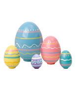 """Nesting Easter Eggs 5pc./4"""" - $33.00"""