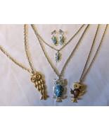 Lot of Retro / Vintage Owl Jewelry - Pendants &... - $25.00
