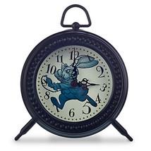 Disney Parks Store Alice Through The Looking Glass Desk Clock Nib White Rabbit - $34.64