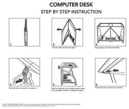 Home Organization Closet Organizer Origami RDE01 Computer Desk RDE-01 - $125.08
