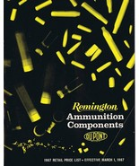 ORIGINAL Vintage 1967 Remington Ammunition Components Catalog - $18.55