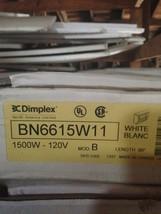 "Dimplex 57"" BN5712W31 Electric Baseboard heater 240/208V  White - $70.13"