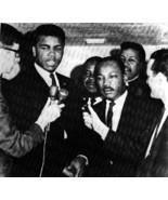 Muhammad Ali Martin Luther King Vintage 11X14 BW Historical Memorabilia... - $14.95