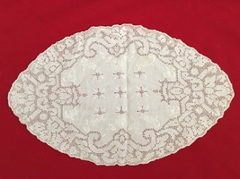 """White 8.5X14"""" Lace Doilie - $8.78"""
