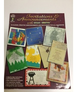 Invitations & Announcements with Paper Pizazz By Judy Scheibe - $6.25