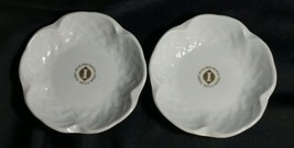Two Elegant Bernardaud Limoges Porcelain Inter-Continental Hotel Dishes  - $15.83