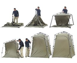 Lightspeed Outdoors Xtra Wide Quick Set Up Privacy Toilet Camp Shower Tent - $152.57