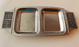 Mid Century Danish Modern Stainless Rogers Insilco Relish Tray Vintage D... - $17.95