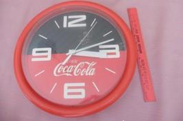 Vintage Enjoy Coca Cola Clock Round wall CBC 02... - $28.55