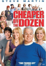 Cheaper by the Dozen (DVD, 2004) - $6.00