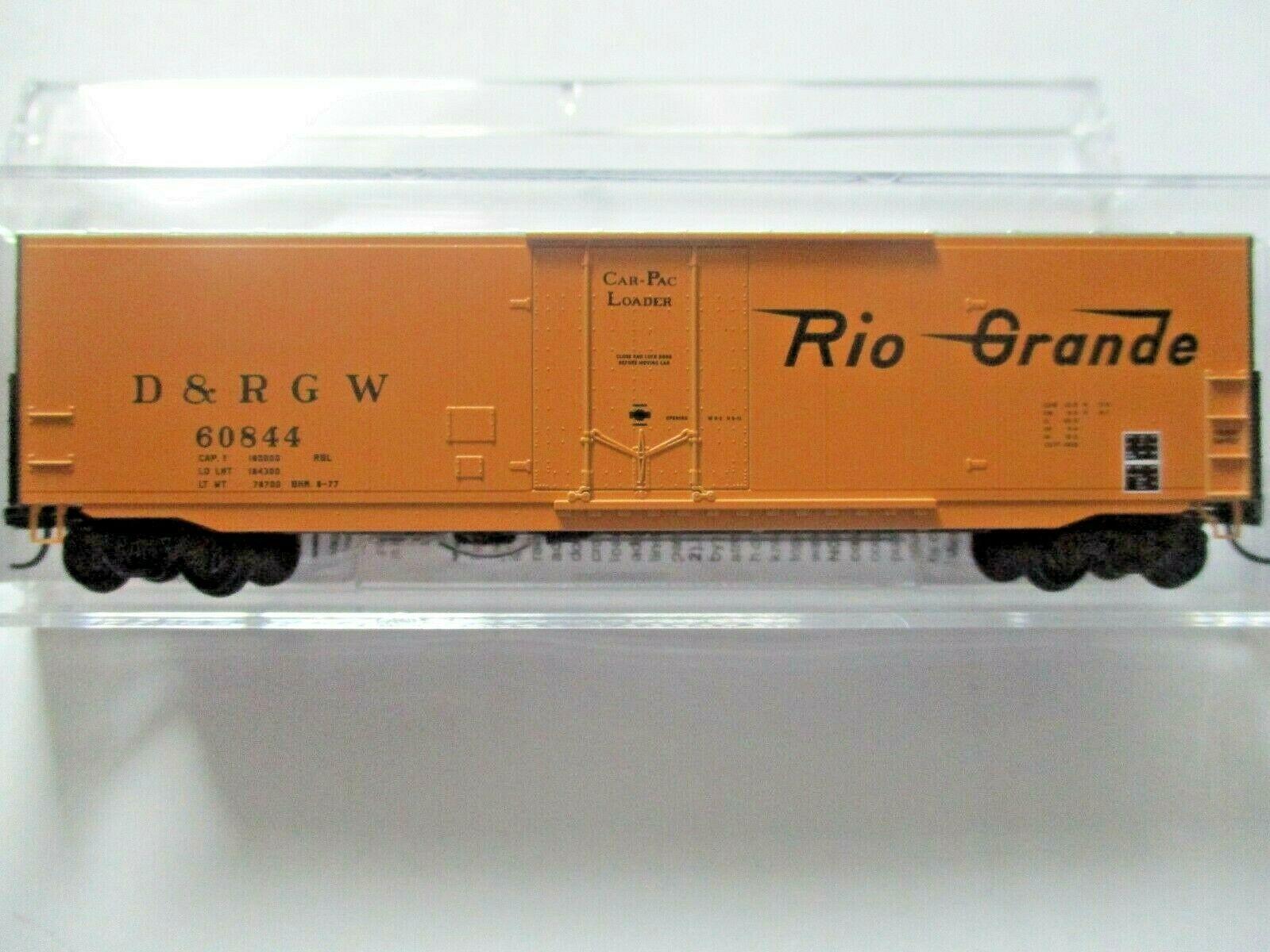 Micro-Trains # 18100150 Denver & Rio Grande Western  50' Standard Boxcar N-Scale