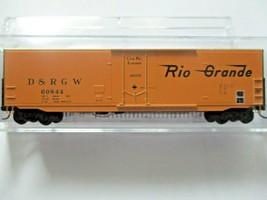 Micro-Trains # 18100150 Denver & Rio Grande Western  50' Standard Boxcar N-Scale image 1