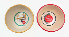 Coca-Cola Stoneware Diner Sign and Soda Pop's Sign Set of 2 Bowls Cereal... - $8.91