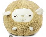100777 livheart sheep of maple beige circle ball cushion a thumb155 crop