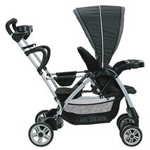 Baby Stroller Graco Roomfor2 Click Connect Stand and Ride Gotham 1946468 - $147.48