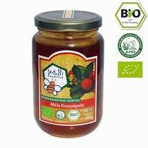 Organic Arbutus Raw Honey 450gr from mountain Parnon Greek Honey NEW HAR... - $26.90