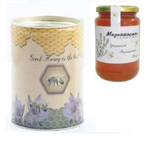 Thyme Raw Honey Canister 400gr from Psara Island Greek honey NEW HARVEST - $22.90