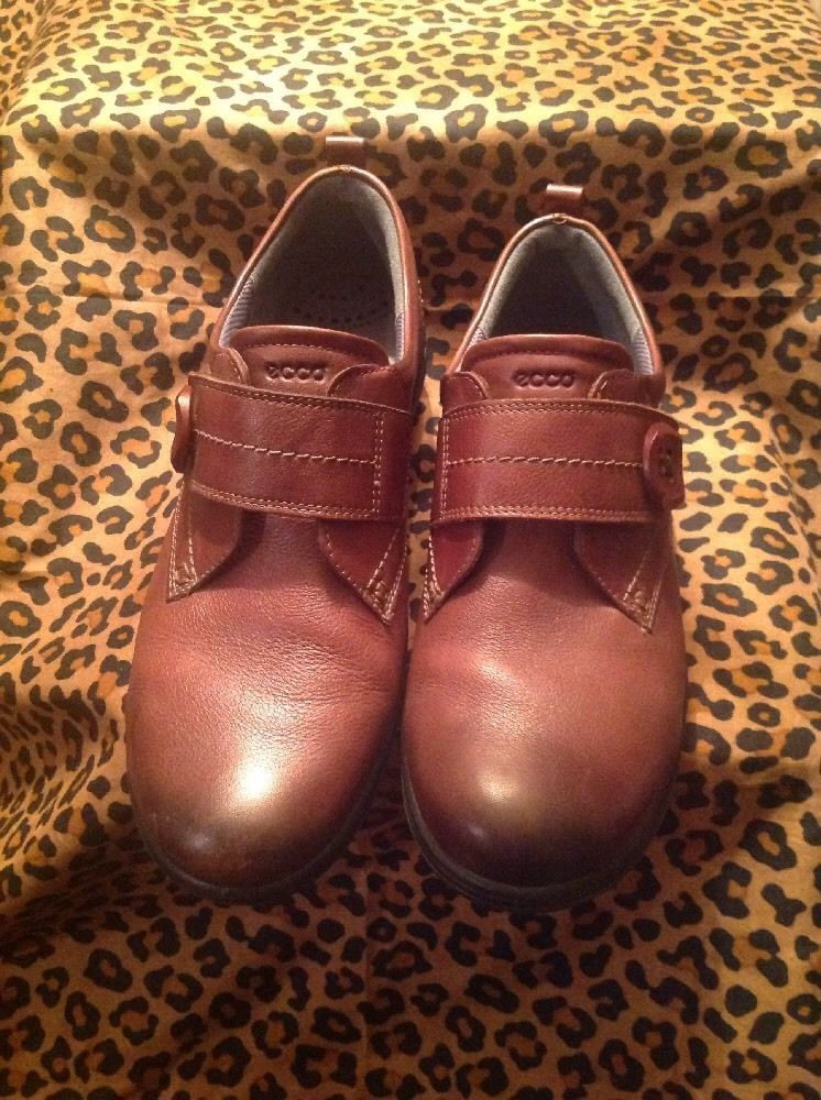 ECCO Size 8 to 8.5 Brown Buckle Suede Women's and 50 similar