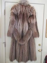 Tanuki Full Length Fur Coat, Boy Coat Style, Size 12, Beautifully Matched Pelts - $1,064.25
