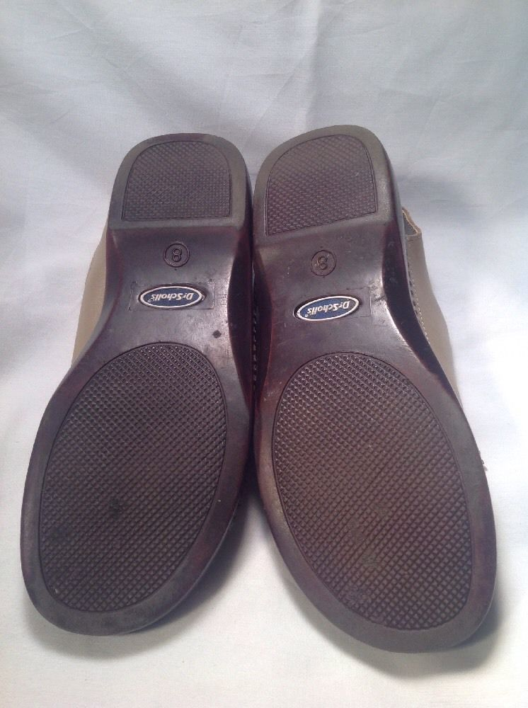 636a810c5119 Dr. Scholl s Double Air Pillow WOMEN S Sandals 8M Gold Walking Shoes Very  Nice