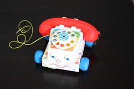 VINTAGE 1985 FISHER-PRICE CHATTER BOX TELEPHONE... - $21.77