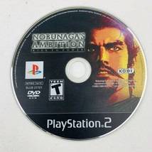 Nobunaga's Ambition Rise to Power Playstation 2 PS2 Video Game Disc Only - $11.87