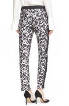 New NWT Womens Designer Rachel Zoe Pant Slacks 0 Work Black White Ange S... - $97.50