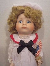 """Marie Osmond doll TIFFANY MISS INDEPENDENCE COA 9"""" tall MIRACLE CHILDREN - $49.50"""