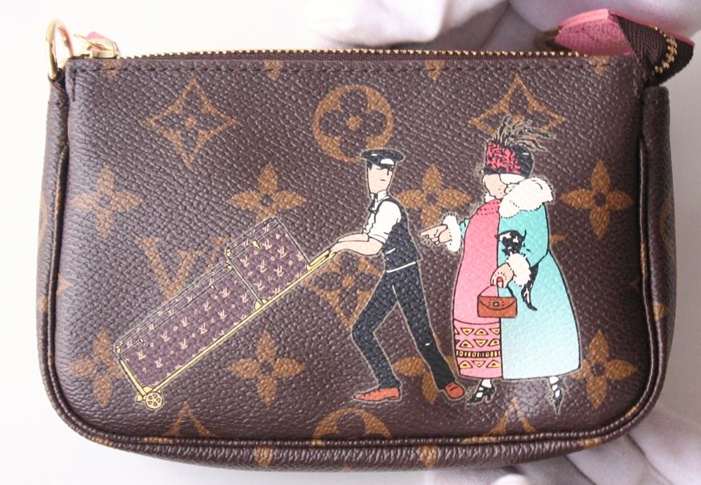 0f0eaf3b4d49 161027 03 05. 161027 03 05. Previous. Louis Vuitton Monogram Illustre Mini  Pochette Limited Edition