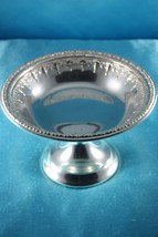 Silverplate Compote Round ✩ Riviera Pattern  1232   Reed & Barton ✩ Ornate - $29.99