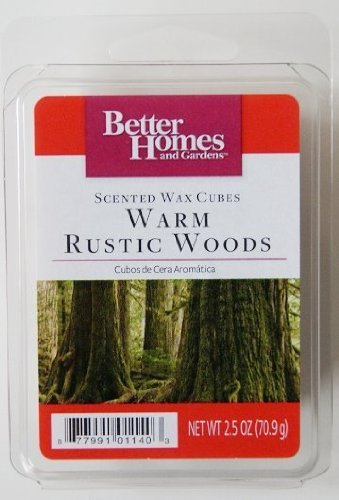 Better homes and gardens warm rustic woods scented wax - Better homes and gardens scented wax cubes ...