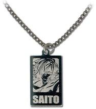 Hakuoki 2nd: Saito Metal Portrait Necklace GE35545 NEW! - $13.99