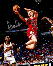 Steve Kerr Signed Chicago Bulls Lay Up Action 8x10 Photo - $80.00