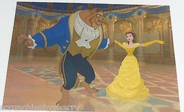 Disney Store Disney Beauty Beast Belle Lithographs Photo Picture Potts  - $99.95