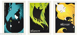 Disney Maleficent Lithograph Collection Villains Limited Edition 3000 New - $129.95